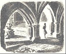 Illustration by Margaret Horder in A fiddler for the Abbey.