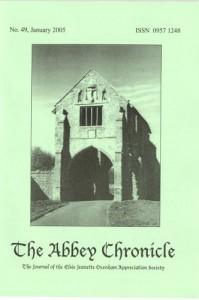 <em>The Abbey Chronicle</em>, the magazine of the UK Elsie Oxenham Appreciation Society.
