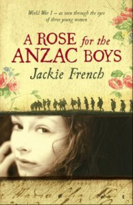 Cover of A Rose for the ANZAC Boys