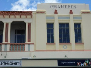 Image of art artdeco building in Napier