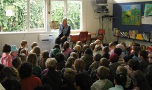 Lynne Jackett at Thorndon School