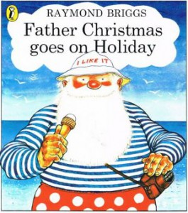 Image of the cover of Father Christmas Goes on Holiday