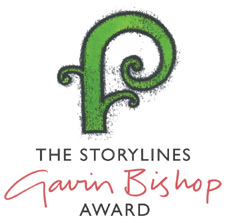 Image of logo of Gavin Bishop Award