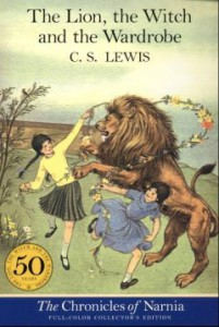 Cover of C S Lewis's The Lion, the Witch and the Wardrobe