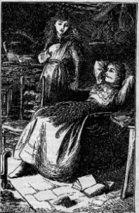 Illustration of Margery composing from Six to sixteen