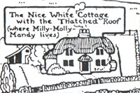 Illustration from Milly Molly Mandy books