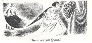 Illustration by Margaret Horder in <em>An Abbey champion</em>