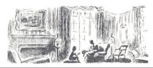 A Margaret Horder illustration from <em>An Abbey champion</em>