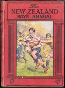 image of the cover of the NZ Boys' Annual
