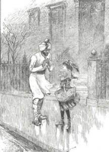 illustration from Sara Crewe