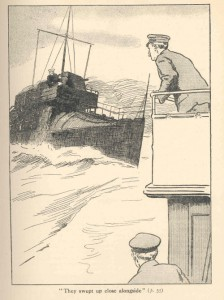 """The New Torpedo: A Story of Up-to-Date Piracy' by Harry Collingwood, in The Empire Annual for New Zealand Boys"