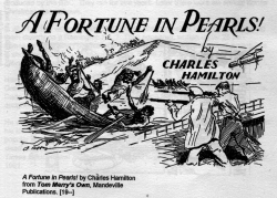 An image from A Fortune in Pearls by Charles Hamilton from Tom Merry's Own, Mandeville Publications
