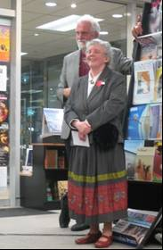 Image of Roger Steele and Susan Price at book launch