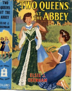 EJO's last book, published 1959, Two Queens at the Abbey