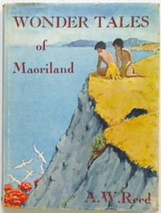 Image of Cover of Wonder Tales of Maoriland by A. W. Reed