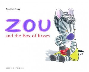 Cover of Zou and the Box of Kisses
