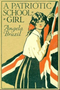 Image of Cover of A Patriotic School Girl