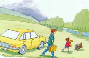 Sam's picnic by Beverley Randell, illustrator Pat Reynolds (2000)
